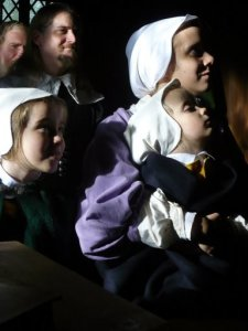 puritan-kids-and-mother